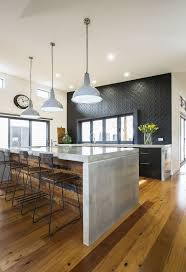 industrial themed furniture. Modern Industrial Kitchen Ideas Also Gray Pendant Lamps And Black Chairs Table For Themed Furniture