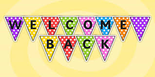 printable welcome home banner template welcome back bunting welcome back bunting classroom bunting
