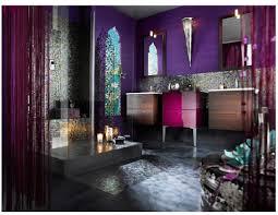Jewel Tones Moroccan Modern Bathroom Houzz