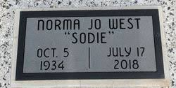 Norma Jo Seely West (1934-2018) - Find A Grave Memorial