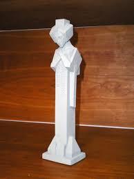 frank lloyd wright statue midway gardens sprite 12 tabletop sculpture