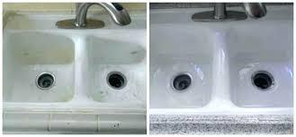 how to reglaze a sink porcelain reglaze kitchen sink kitchen sink reglazing kit