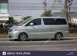 CHIANG MAI, THAILAND -JANUARY 29 2017: Private Toyota Alpha car ...