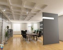 officeexclusive modern office design with elegant brown wooden table also grey file cabinet also charming cool office design 2