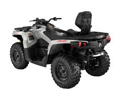 2016 can am outlander and outlander max line up atv illustrated Can Am Outlander 650 Wiring Diagram one up outlander atvs the added length allows the passenger to sit in front of the rear axle for improved handling and comfort can am outlander 650 wiring diagram