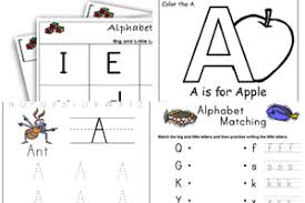 Printable alphabet worksheets where children circle the correctly orientated letters in uppercase and lowercase. Alphabet Worksheets