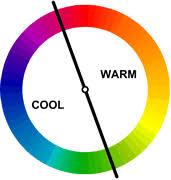 Warm Colour Chart Color Theory Desktop Publishing