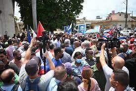 Rare Protests Hit Cuba Amid Economic ...