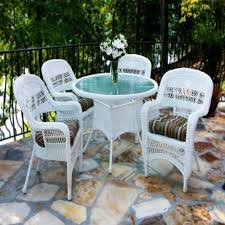 patio furniture chairs wicker dining set
