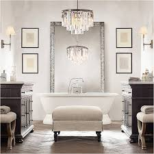 small bathroom chandelier crystal beautiful lighting modern crystal