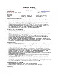 Best Ideas of Sample Resume For On Campus Job On Example