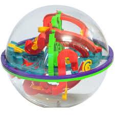 ball maze. 100-level 3d magic maze ball intellect children\u0027s educational toy orbit game large size e