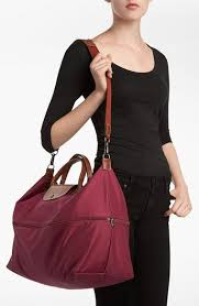 find wine color bag on longch site isn t on nordstrom