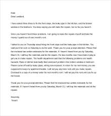 14 Complaint Letter To Landlord Free Sample Example
