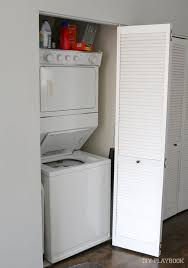 before pic laundry closet makeover diy playbook