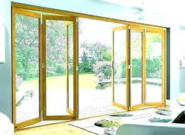 accordion glass doors exterior dekoluxpro folding glass door folding sliding glass exterior doors