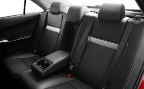 2016 toyota camry rear seats