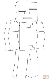 Disegno Di Steve Di Minecraft Da Colorare Disegni Da Colorare E Con