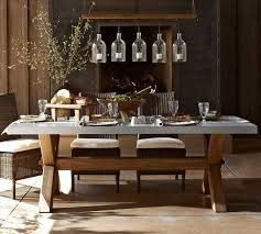 dining tables zinc top dining table zinc top table restoration hardware rectangle wooden table with