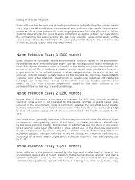 essay on noise pollution pollution air pollution