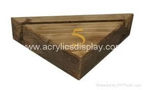 Wooden Menu Display Stands wooden menu display holder block China Manufacturer wooden 48