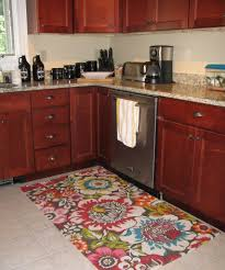 Kitchen Carpet Flooring Charming Red Kitchen Rugs Pbh Architect