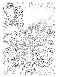 Coloring Pages Avengers Coloring Sheets Pages Free Printable For