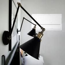 Wandlamp Industrieel Keuken Reeves Zwart E27 Fitting Wandlampen