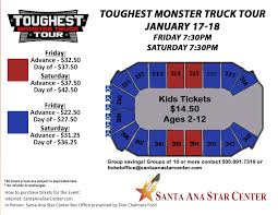 Santa Ana Star Center Seating Chart Rio Rancho Seating Charts