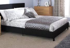 Black leather bed frame Dark Leather Black Leather Bed Frame New Double Black Leather Bed Frame Pu Leather Bed Frame Queen Black Quelfilminfo Black Leather Bed Frame New Double Black Leather Bed Frame Pu