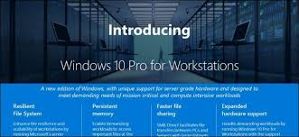 Windows 10 Version Comparison Chart What Is Windows 10 Pro For Workstations And How Is It
