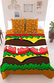 interesting duvet covers uk cool duvet covers funky doona covers australia hamburger