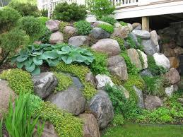 ... Cosy Rock Wall Garden Natural Look Retaining Sustainable Walls ...