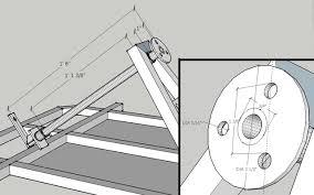 go kart steering system parts design build kartfab com go kart steering column and steering wheel hub