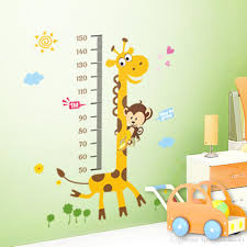 Small Picture 8 Designs Kids Height Chart Wall Sticker Home Decor Cartoon