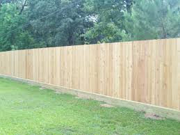 how to install a fence with how to install a fence