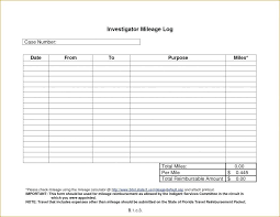 Mileage Report Templates Business Expense Log Template Mileage Spreadsheet With And Free Form