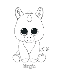 Printable Unicorn Coloring Pages Arcadexme