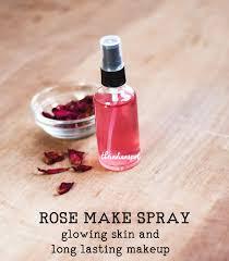 rose water makeup setting spray