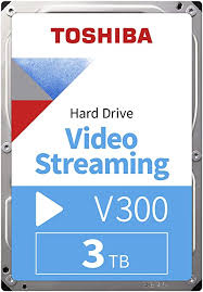 "<b>Toshiba</b> HDWU130UZSVA 3TB <b>V300</b> 3.5"" <b>Video Streaming</b> Hard Drive"