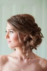 Coiffure Mariage Cheveux Mi Long Avec Boucle Cheveux Naturels