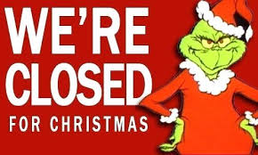 Closed Signs Template Christmas Closed Sign Template Chanceinc Co