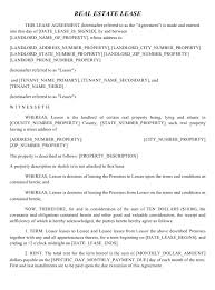 As with other agreement forms, rental lease agreements provide protection and security between both the tenant and the landlord. Free Land Lease Agreement Templates By State Download Pdf Templateroller
