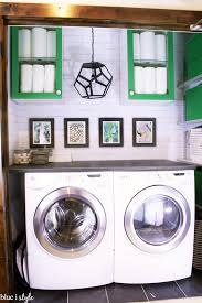 laundry countertop ideas and diy with style diy wood plank laundry room countertop blue i pertaining