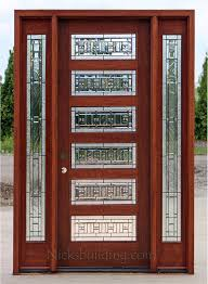 captivating craftsman style entry door with sidelights gallery