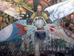 diego rivera murals rockefeller. Brilliant Murals The Central Scene A Workman Is Depicted Controlling Machinery Before Him  A Giant For Diego Rivera Murals Rockefeller E