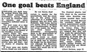 From the archive: World Cup 1970, England 0–1 Brazil | Football | The  Guardian
