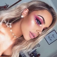 festival makeup yss by brooke elle