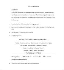 photographers resume photographer resume template photography resume templates