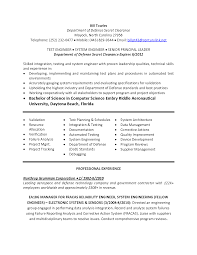 Hydro Test Engineer Sample Resume 15 Qa Tester Resume Software